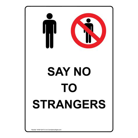 always beware of strangers